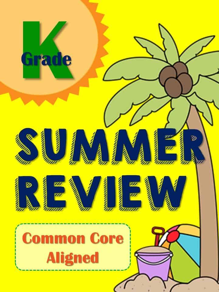 https://www.teacherspayteachers.com/Product/Summer-Review-Packet-for-Kindergartners-Common-Core-Aligned-1854551