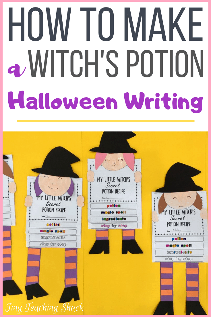 halloween writing activity for young writers