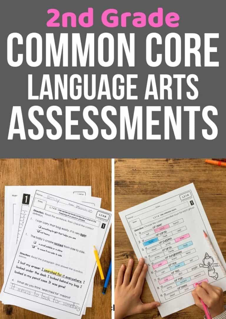 second grade common core language