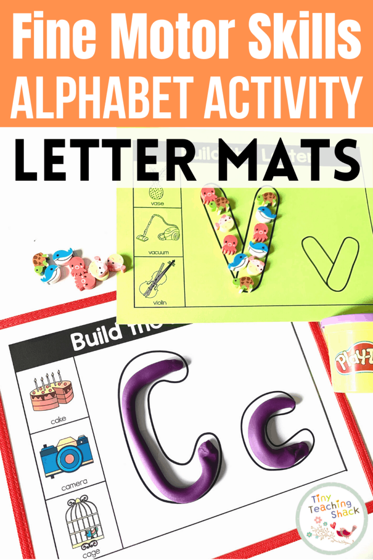 Alphabet Fine Motor Skills   Letter Mats is part of my Alphabet Fine Motor Skills Bundle. Students will have fun playing with Play-Doh or any other clay material to shaping the letter formation. You can get creative with the mats by using various manipulatives like blocks, Lego pieces, mini erasers, or pompom balls. You could even print it out for students to color, paint, or simply decorate with stickers. This is a great way to increase your students' letter recognition in a kid-friendly way. You can print this resource in color or black and white.