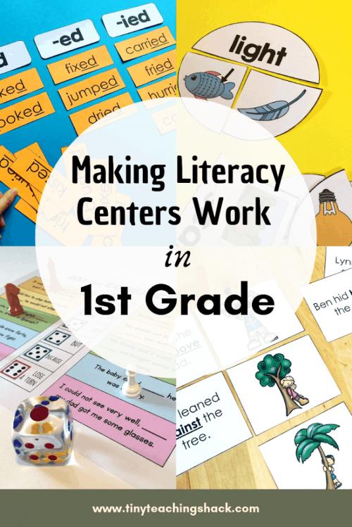 grammar activities for literacy center