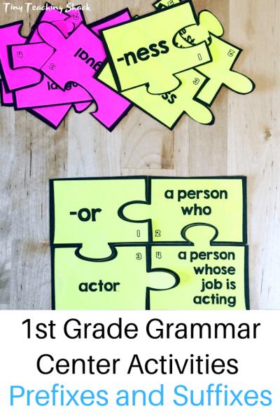 prefix and suffix activity