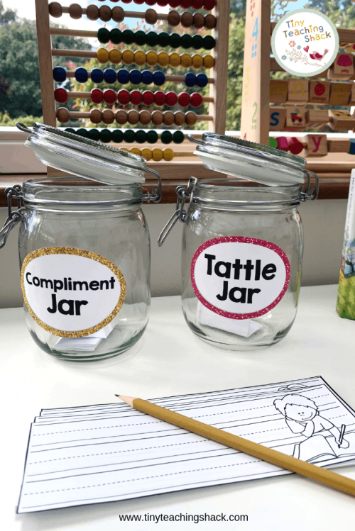 tattling and compliment jar
