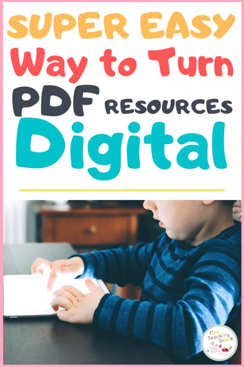 tpt easel pdf to digital