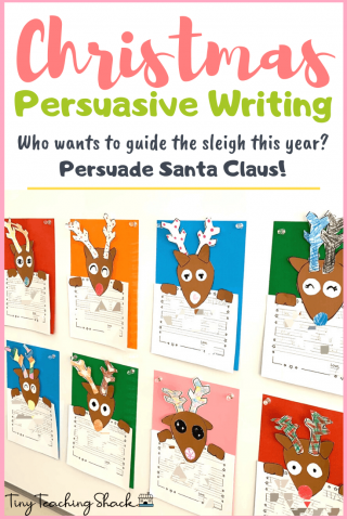 Christmas persuasive letter writing