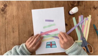 christmas tree arts and craft for kids