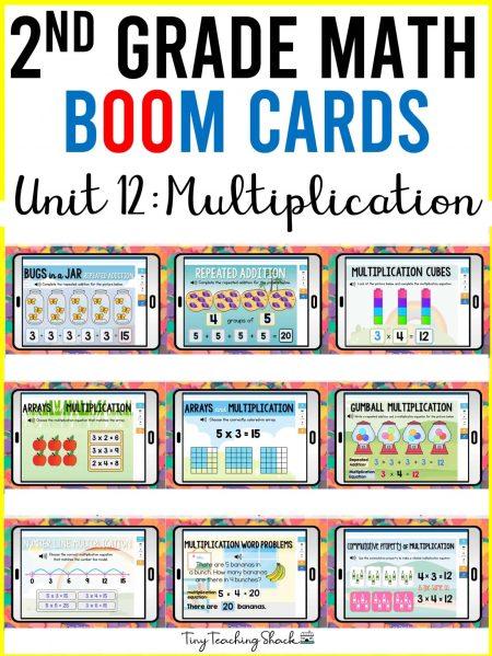 second grade multiplication
