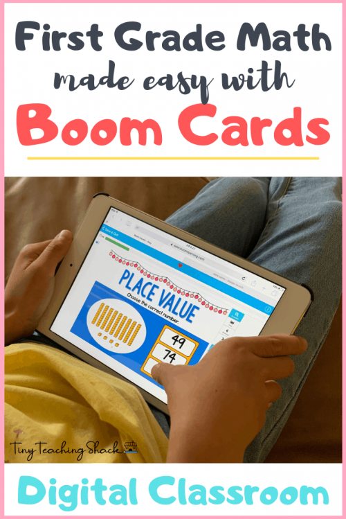 first grade math activities boom cards digital learning