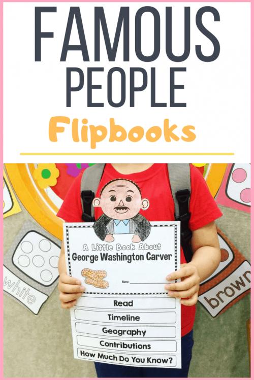 famous people flip books