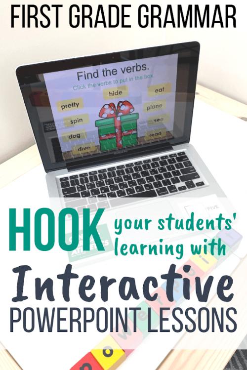 grammar interactive powerpoint lessons